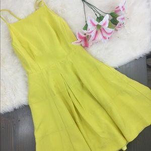 Nanette Lepore Brigitte Dress in Sunbrust Yellow